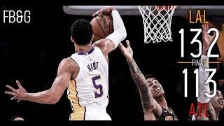 Brandon Ingram's Efficient Night Helps Lakers Snap Streak