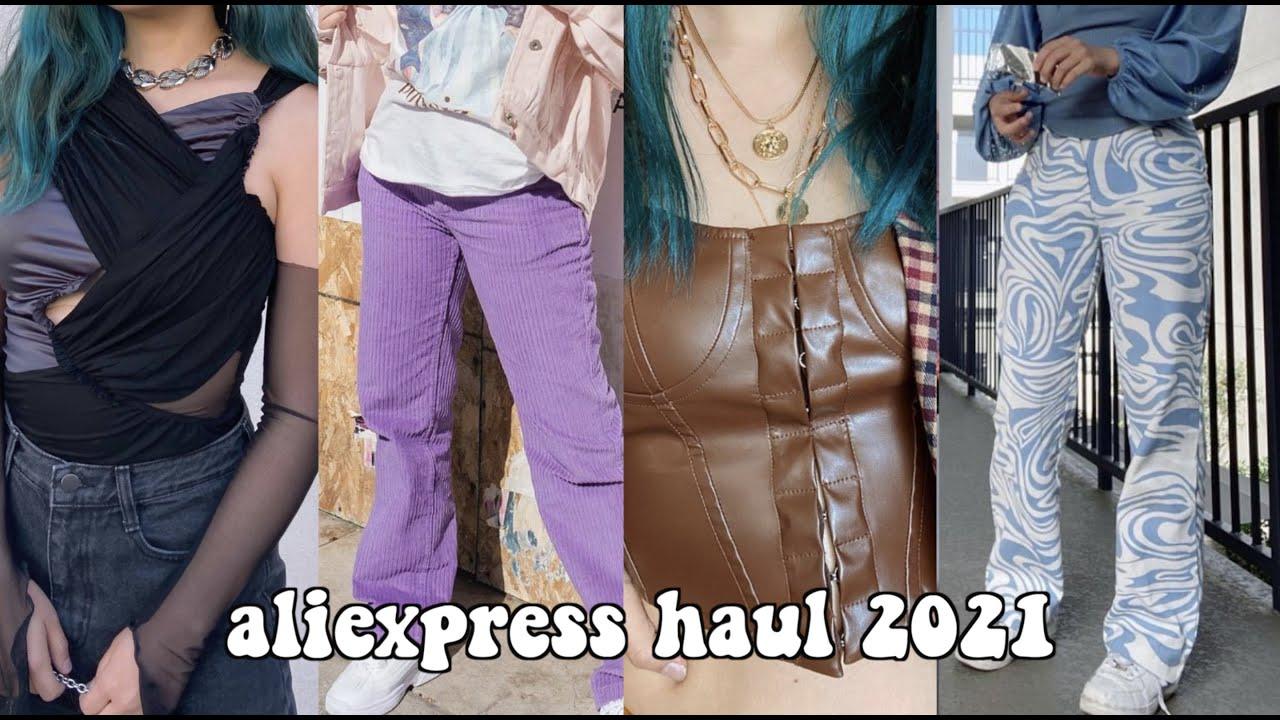 Aliexpress haul 2021 (tops, dresses, shoes!)