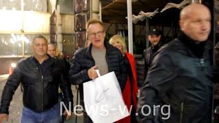 Sting & fans in Moscow 2.10.2017 (fans sing Happy Birthday)