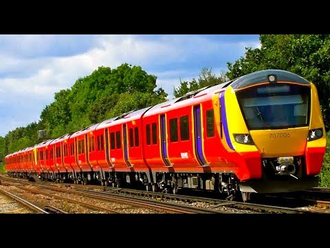 Farewell SWT , The Last Day Of South West Trains 1996 - 2017 , Saturday 19th August 2017