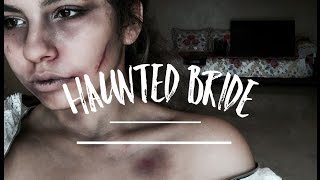 💀☠️haunted bride☠️💀 | no face paint needed