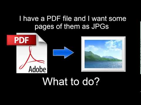 How To Use Photoshop To Convert PDF To JPG Within One Minute