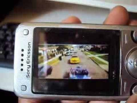 You tube no celular- Sonyericsson W760i