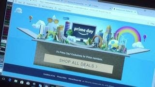 Amazon site hit with glitch after Prime Day begins