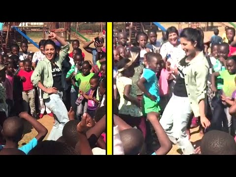 Priyanka Chopra Teaches DESI Thumka Dance To Poor African Children Will Blow Your Mind