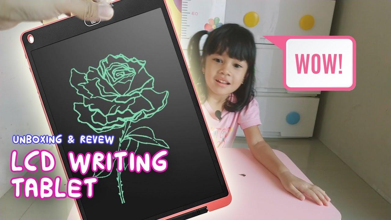 Unboxing Dan Review LCD Writing Tablet Untuk Aruna Adreena