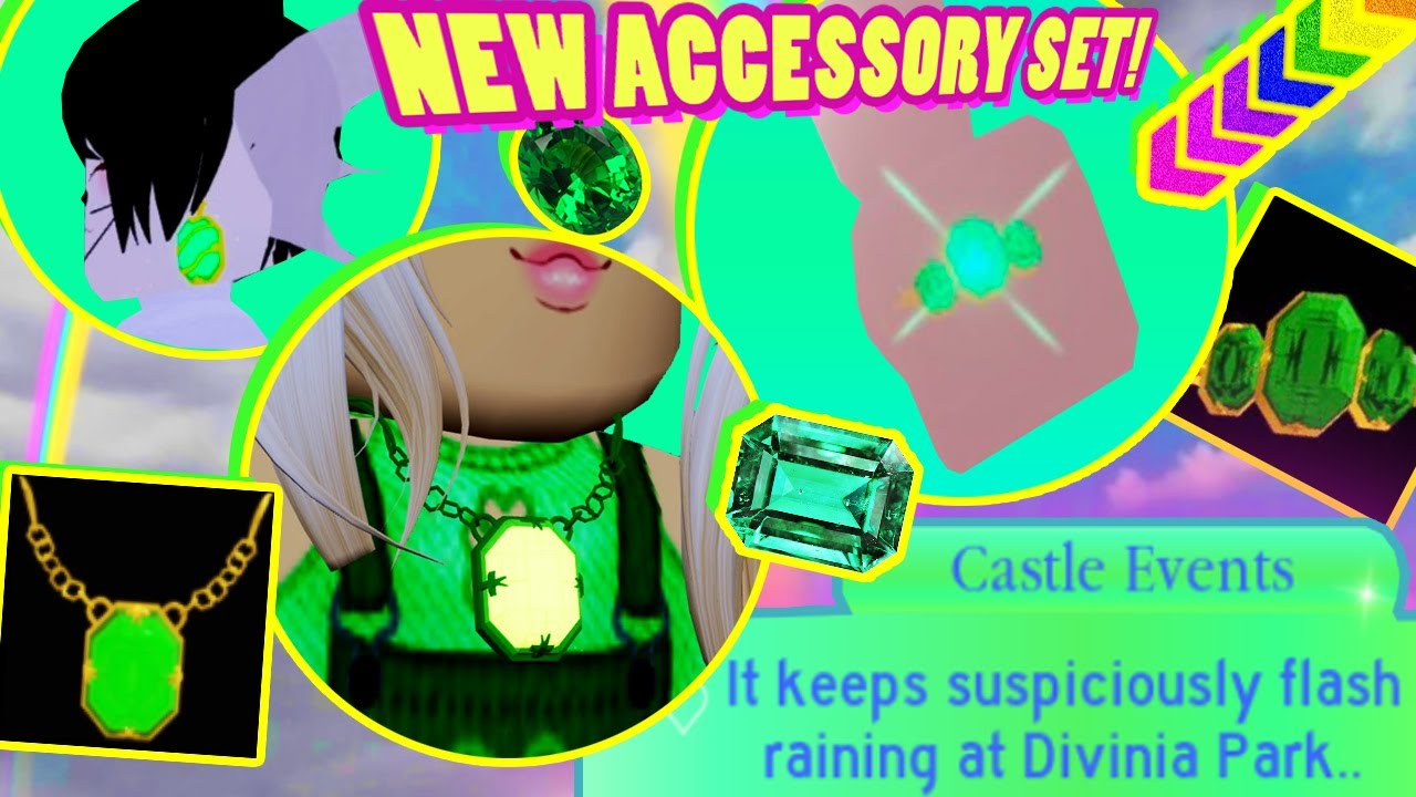 St Patrick S Event Emerald Accessory Set Find Items In The