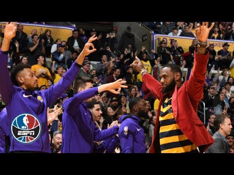 Lakers pull away to defeat the Kings on LeBron James' 34th birthday | NBA Highlights