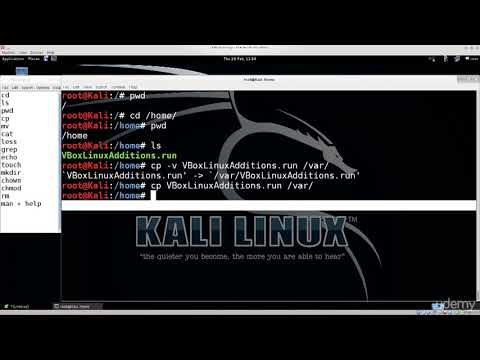 11 11  Linux Command Line Interface CLI basics