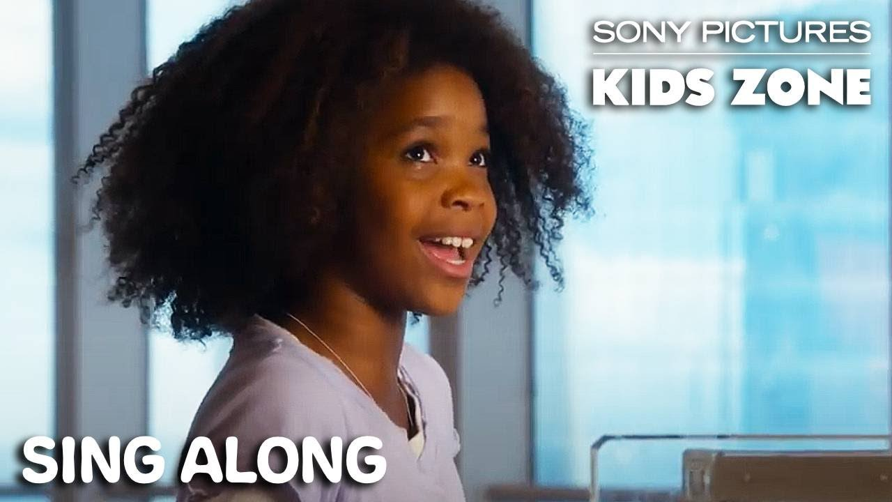 """Download Annie (2014) - """"I Think I'm Gonna Like It Here"""" Sing Along   Sony Pictures Kids Zone"""