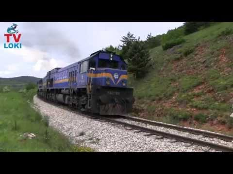 Diesel freight trains in Croatia