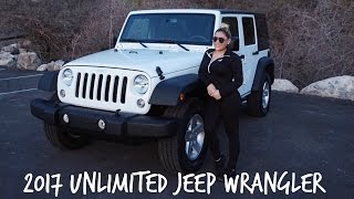 2017 Unlimited Sport S Jeep Wrangler- Tour and why I go it.