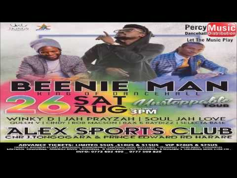 Beenie Man Unstoppable Tour 26th August 2017 Live In Zimbabwe
