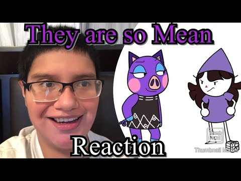 (THEY ARE SO MEAN) Vinny Tube Reaction: Animal Crossing used to be so much darker…