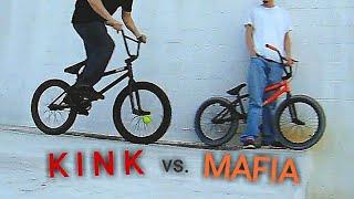 KINK BMX vs MAFIA BIKES vs LEDGE