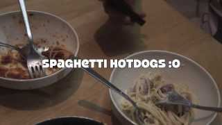 How to make spaghetti hotdogs! Thumbnail