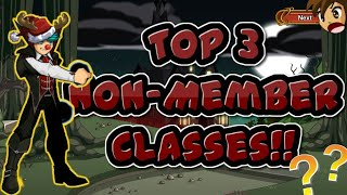 =AQW= Top 3 Free Must Get Classes On Aqworlds *Non-Member* |2018