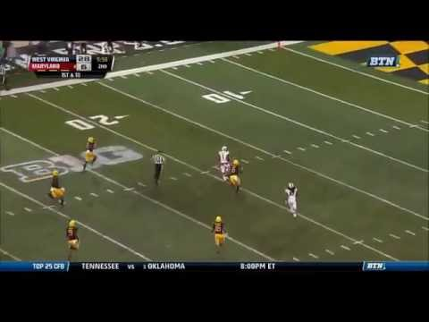 Stefon Diggs - Maryland Football - WR / KR - 2014 West Virginia Game
