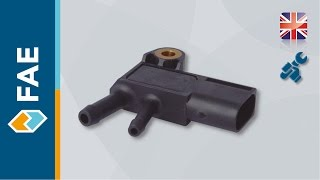 Exhaust Gas Pressure Sensor - Fitting Instructions