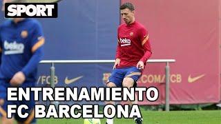 EL ENTRENAMIENTO DEL FC BARCELONA para preparar EL CLÁSICO ANTE EL REAL MADRID 🏋
