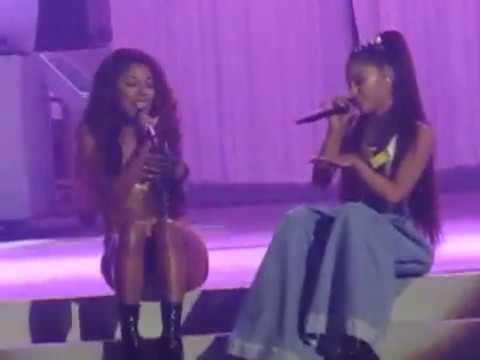 Ariana Grande - Better Days ft. Victoria Monet (Mohegan Sun, Connecticut 2-17-17)