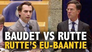 Rutte weigert af te zien van EU-toppositie