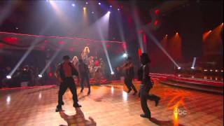 Christina Aguilera Show Me How You Burlesque (Live DWTS) HD