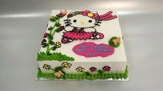 Hello Kitty Cake Decorating Beauty Bc Transfer