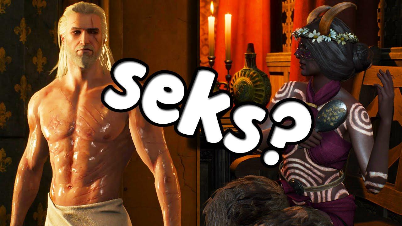 Ведьмак и суккуб секс