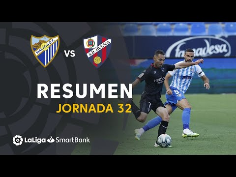 Malaga Huesca Goals And Highlights