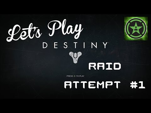 Let's Play - Destiny: Raid Attempt 1