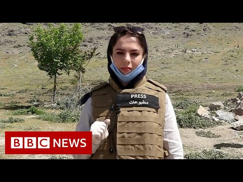 The female Afghan journalist who won't give in to Taliban - BBC News
