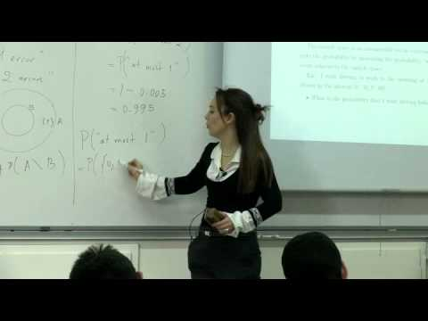 Probability And Random Variables - Week 2 - Lecture 2