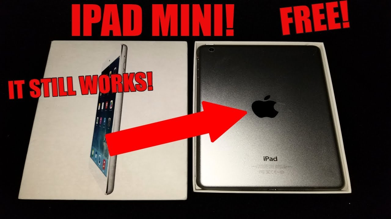 Found Working iPad Mini Apple Store Dumpster Diving! Free iPad Mini From The Apple Store!