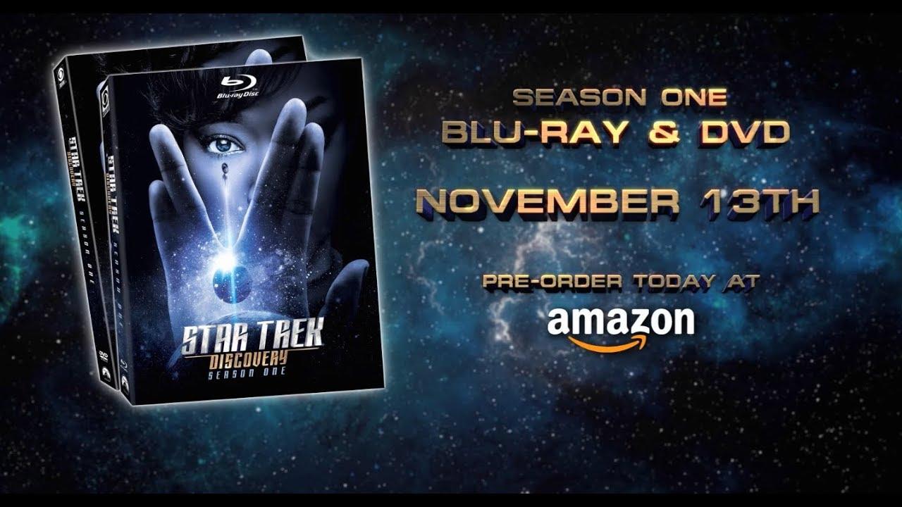 Star Trek: Discovery' Season 1 Blu-Ray Trailer, Bonus Features