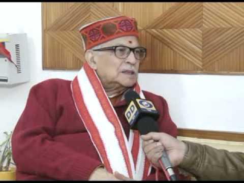 Interview with Murli Manohar Joshi (Hindi)
