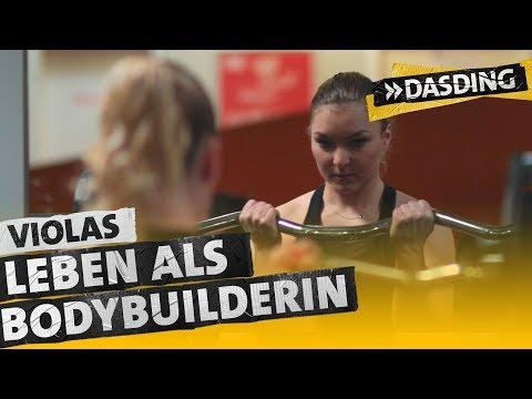 Violas harter Alltag als Bodybuilderin | DASDING Karlsruhe