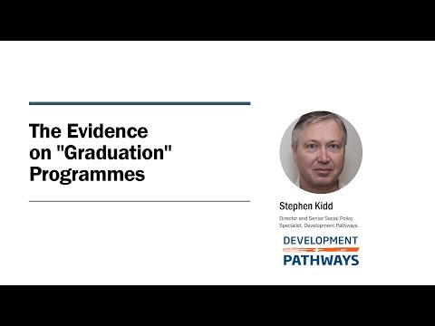 The Evidence on Graduation Programmes - Stephen Kidd (UNRISD Seminar)