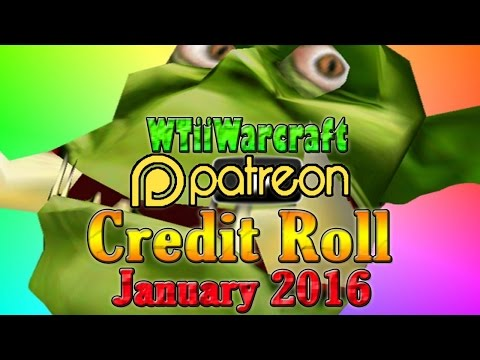 Warcraft 3 - Patron Credit Roll | January 2016