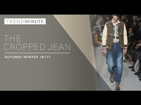 Trend Minute: New York A/W 16/17 Cropped Jeans