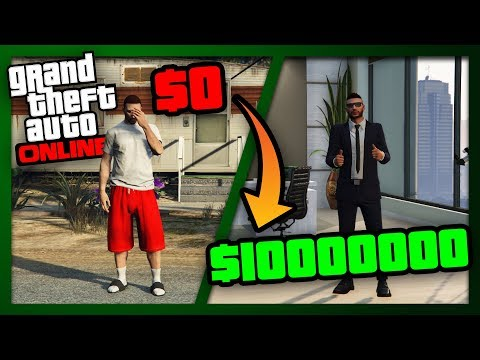 ZERO to MILLIONS   The Ultimate Guide for NEW and BROKE Players of GTA Online   Get RICH Fast