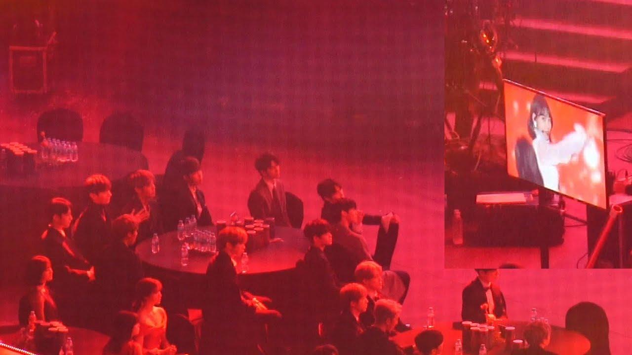 [아이즈원(IZONE) 라비앙로즈] 워너원(Wanna One) ,Twice Reaction@190115 서울 가요대상 [ 4k Fancam/직캠