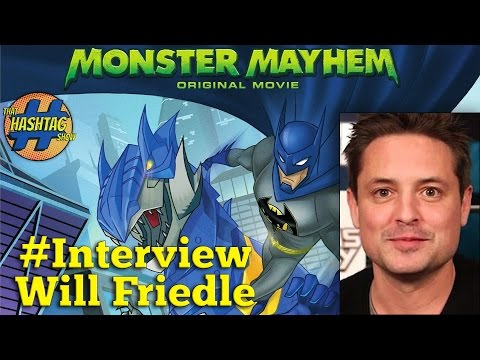 Batman Unlimited: Monster Mayhem -  Full Interview With Will Friedle, Voice Of Nightwing