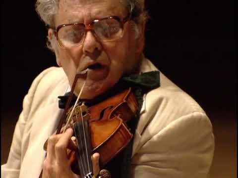 Robert Mann's last performance with Juilliard Quartet 1997 (Tanglewood)