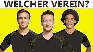 Erkennst du diese Bundesliga-Vereine an ihren Spielern?