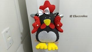 Pegador de geladeira (galinha)