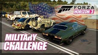 Forza Horizon 3 - Military Challenge (Shipyard Raid)