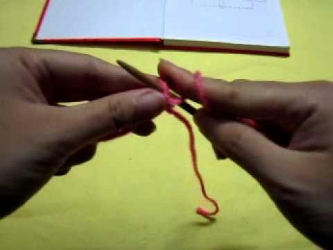 Cách đan mũ cho nữ - hoa văn hoa tuyết - phần 1