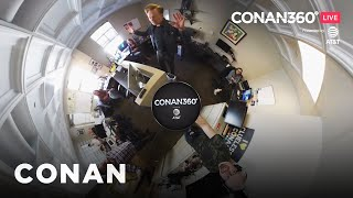 CONAN360° LIVE Highlight:​ Conan Visits Team Coco Digital