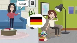 Deutsch lernen Niveau B1, B2 | Nachdem ich gegessen hatte, sah ich einen Film | Plusquamperfekt